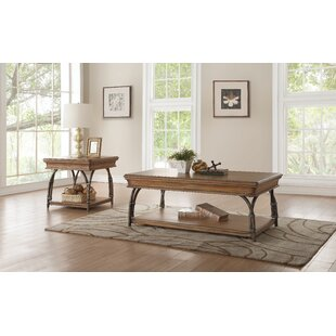 Bayou Breeze Knowles 2 Piece Coffee Table Set
