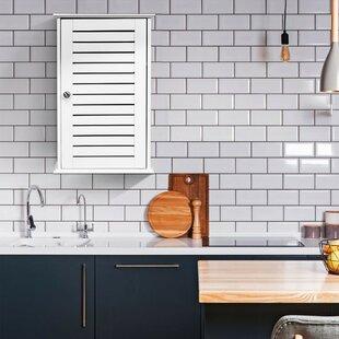 Amyna 14 W x 22 H x 6 D Wall Mounted Bathroom Cabinet by Red Barrel Studio