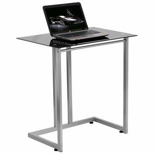 Orren Ellis Wheless Tempered Glass Standing Desk