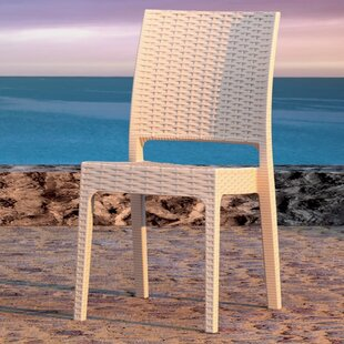 Mercury Row Jayne Stacking Patio Dining Chair (Set of 2)