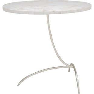 Clam Stone End Table