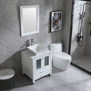 Manderup 24 Single Bathroom Vanity Set
