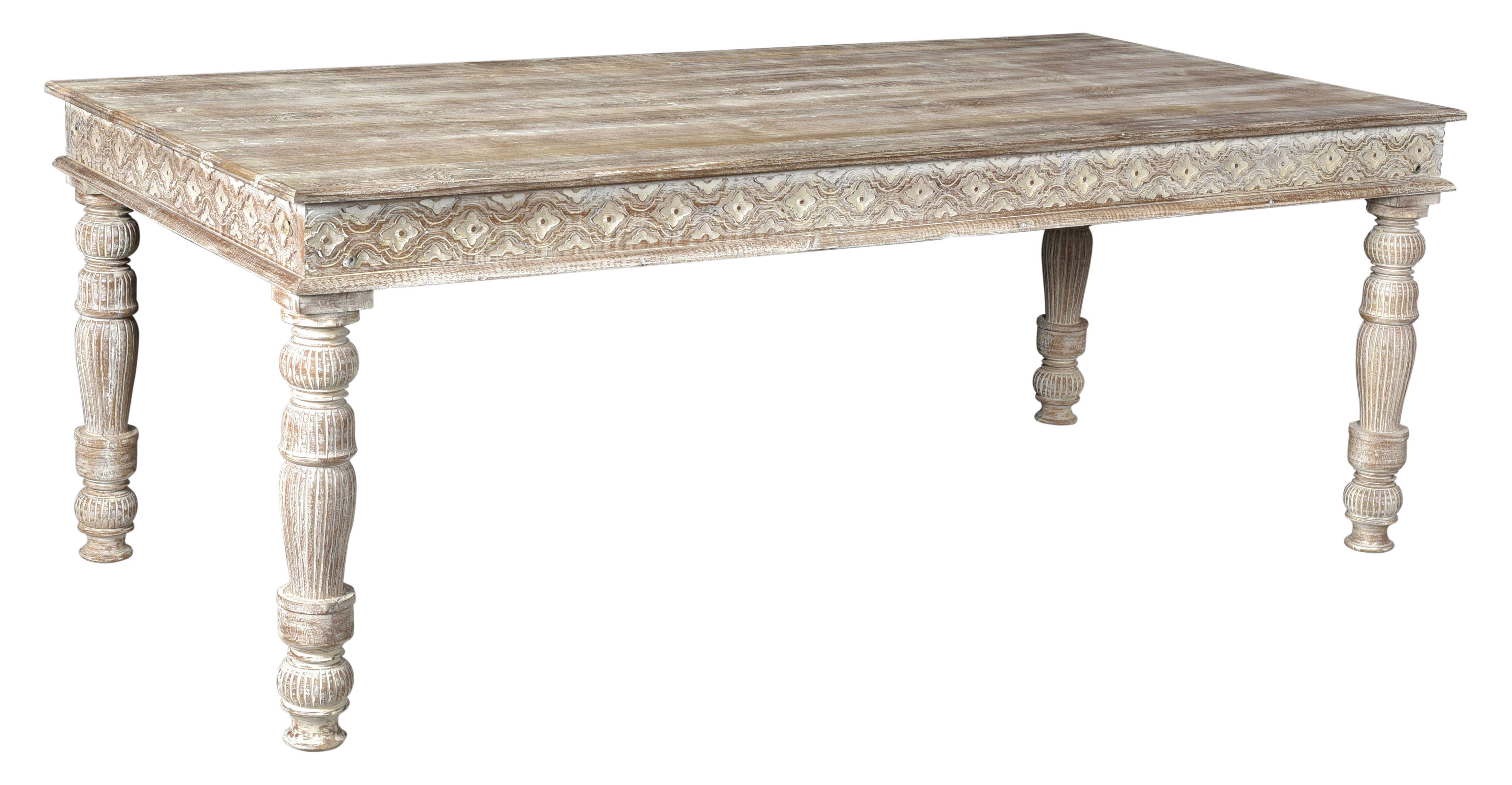 Alia Solid Wood Dining Table Birch Lane