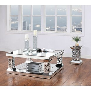Rosdorf Park Lapham 2 Piece Coffee Table Set