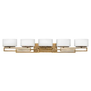Ivy Bronx Goodner 5-Light LED Vanity Light