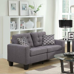 Bateson Loveseat by Alcott Hill