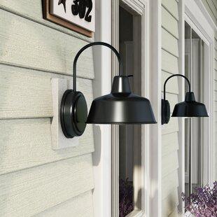 Christine 1-Light Outdoor Barn Light