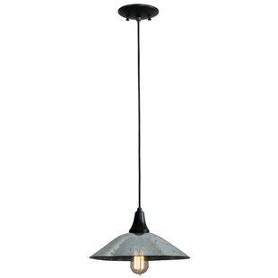 Galatia 1-Light Cone Pendant by Meyda Tiffany
