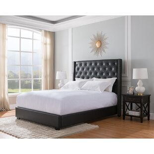 Mohammad Upholstered Panel Bed