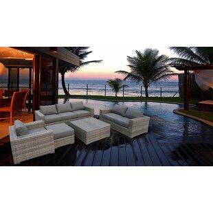 Kaiser 4 Piece Sofa Set with Cushions by Brayden Studio