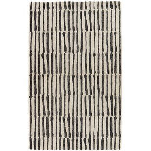 Shop Saville Geometric Handmade White Area Rug By Nikki Chu