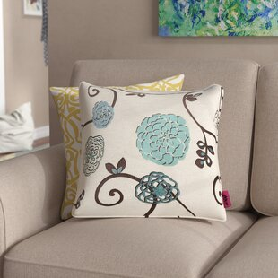 Saltsman Fabric Square Throw Pillow