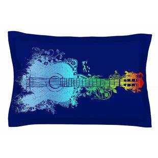 Frederic Levy-Hadida 'Nature Tune' Multicolor Pillow Sham Sham