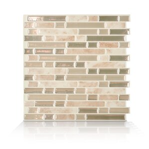 Mosaik Bellagio Sabbia 10 06 X 10 Peel Stick Wall Tile