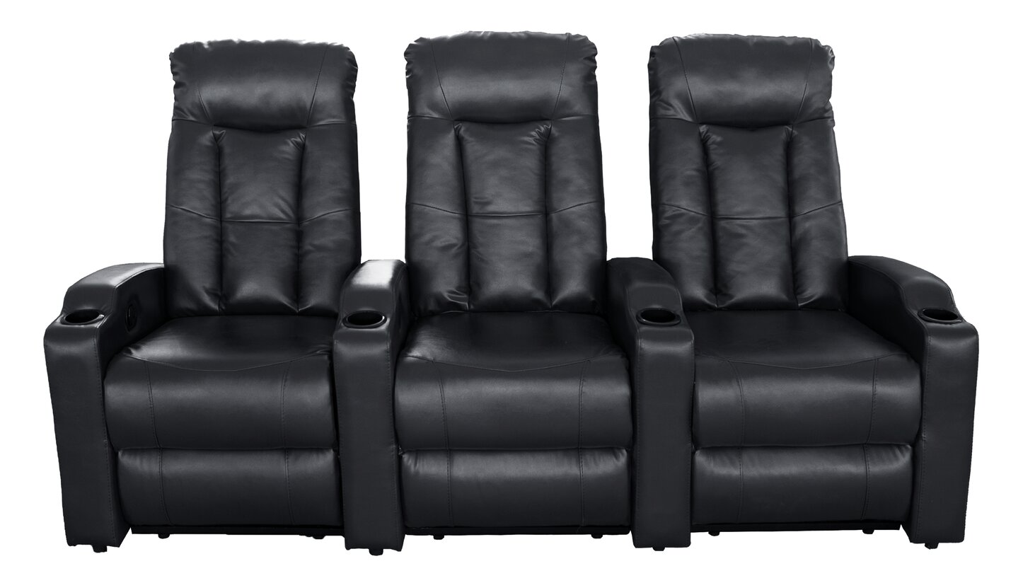 Winston Porter Air Home Theater Row Seating (Row of 3)