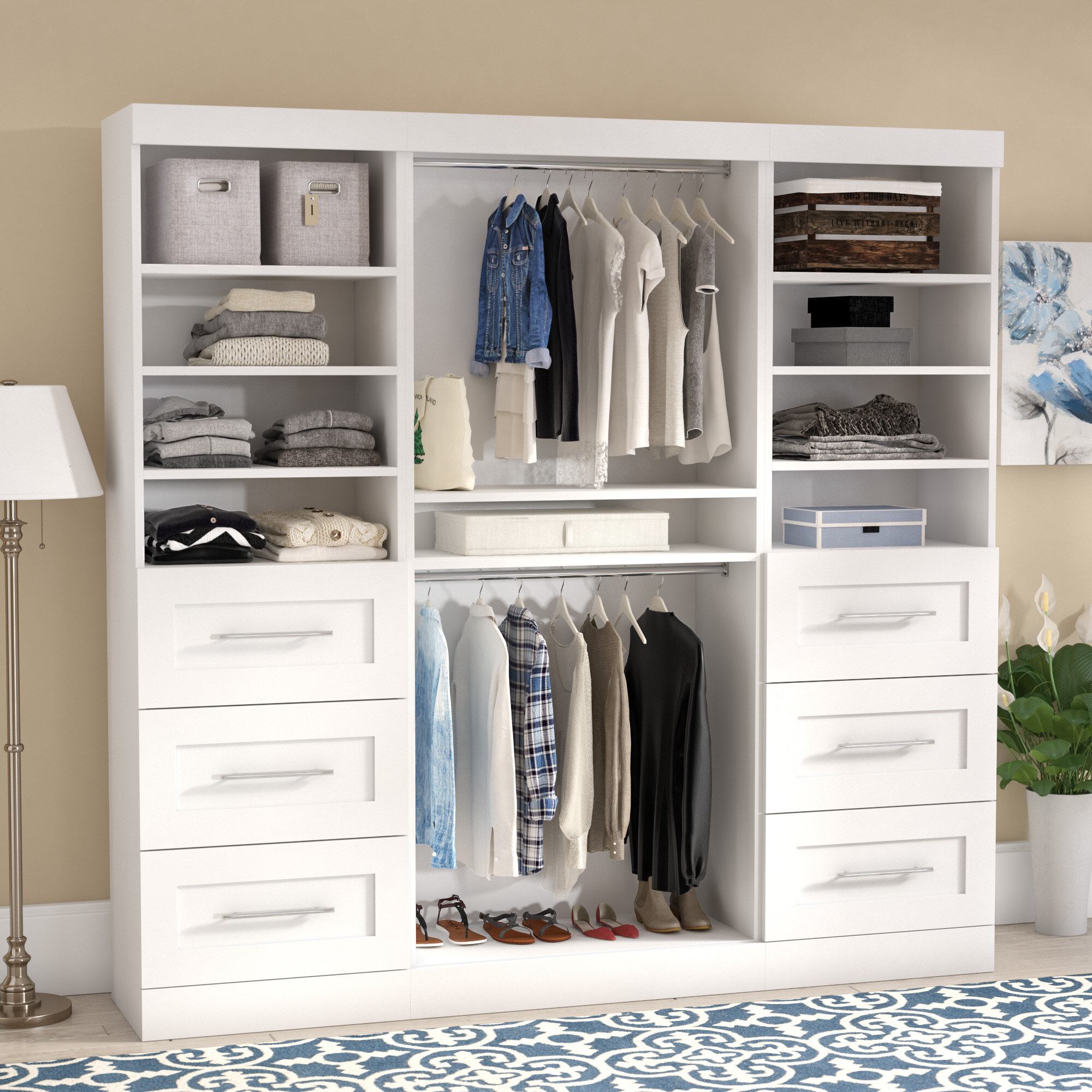 instructions home roth allen design closet ideas system and