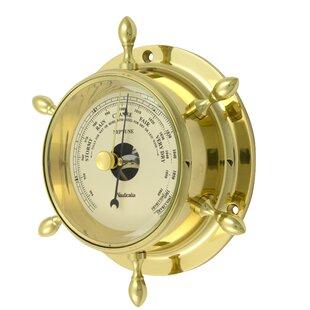 Brass Neptune Barometer Image