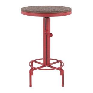 Williston Forge Carmona Adjustable Pub Table