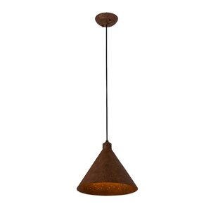 Cone Constellation 1-Light Mini Pendant by Meyda Tiffany