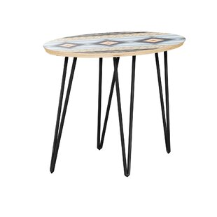 Hunsicker End Table by Bungalow Rose Design