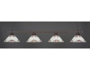 Red Barrel Studio Bedfo 4-Light Billiard Pendant
