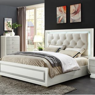 Katlyn Upholstered Panel Bed