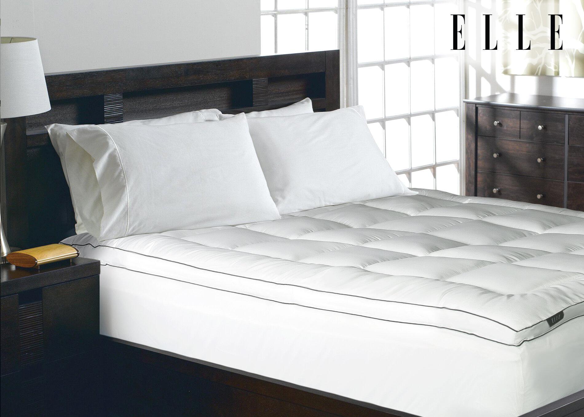 elle decor 2 polyester mattress pad reviews wayfair