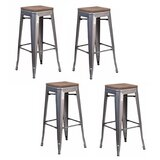 Withyditch 26 Counter Stool (Set of 4) by 17 Stories