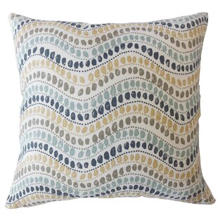 Wiese Geometric Down Filled 100% Cotton Throw Pillow