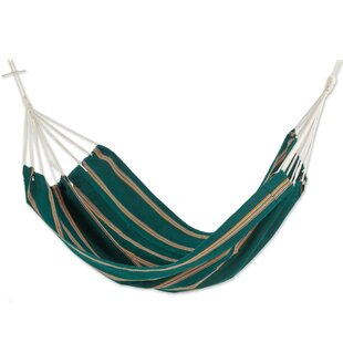 Double Person Fair Trade Portable Happy Beach Days' Hand-Woven Central American Acrylic Indoor And Outdoor Hammock