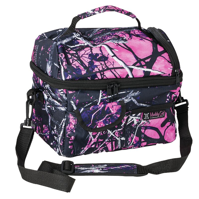 Muddy Moon Shine Camo Lunch Bag Cooler