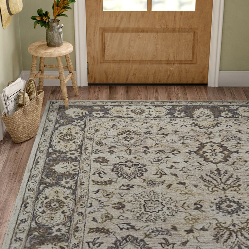 Corsham Hand Tufted Wool Cotton Gray Area Rug Amp Reviews