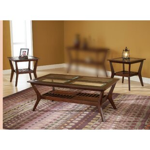 Spinella 3 Piece Coffee Table Set