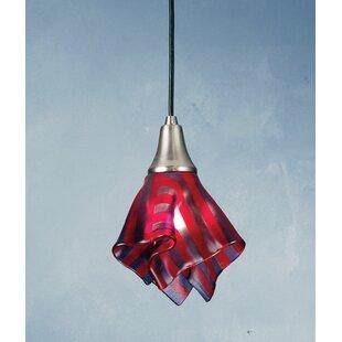 Meyda Tiffany Metro Fusion Satrial's Dream Handkerchief 1-Light Novelty Pendant