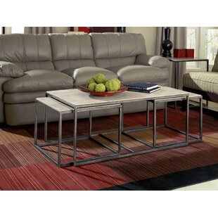 Masuda 3 Piece Coffee Table Set By Brayden Studio