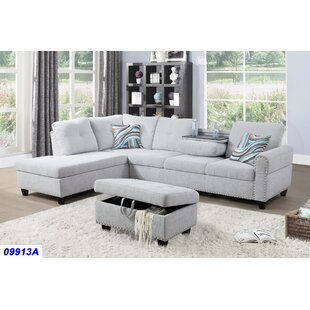 Sciortino Sectional with Ottoman
