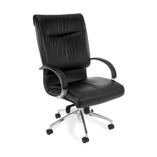 Sharp Genuine Leather Executive Chair