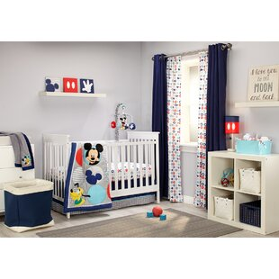 Mickey Best Buds 4 Piece Crib Bedding Set By Disney