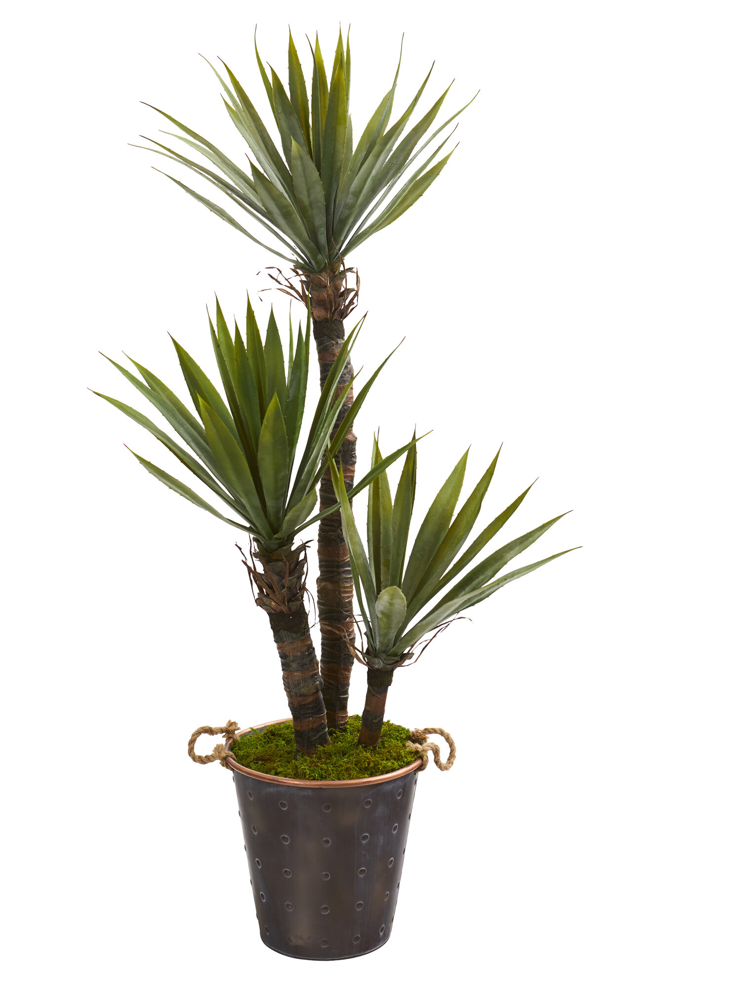 World Menagerie 53 Artificial Yucca Tree In Planter Wayfair