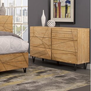 Langley Street Benjamin 6 Drawer Dresser