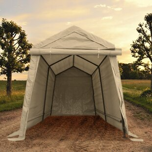 Storage 6 ft. W x 8 ft. D Steel Pop-Up Canopy by Impact Shelter