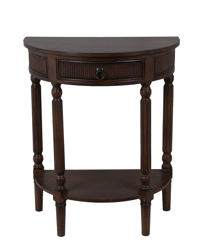 Half Rond Side Table.Half Round Side Table Table Design Ideas