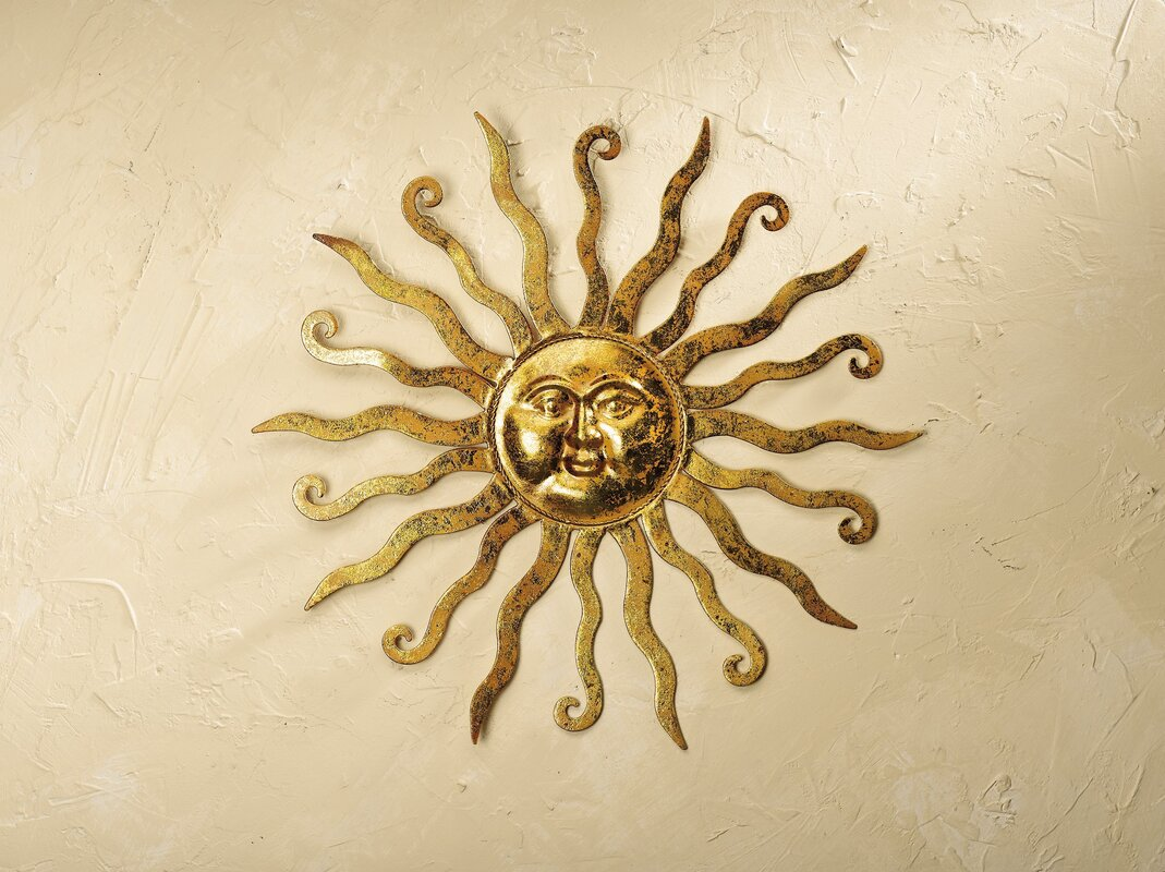 Cool Metal Sun Wall Decor Contemporary - The Wall Art Decorations ...