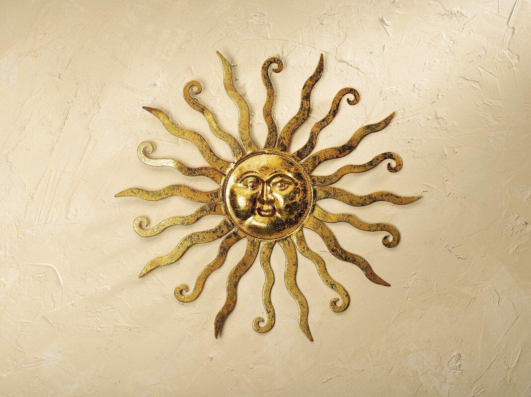 Beautiful Sun Wall Art Metal Images - The Wall Art Decorations ...