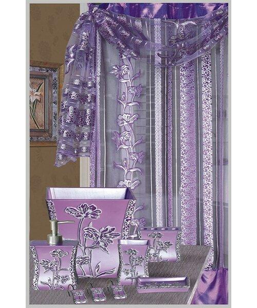 August Grove Denis Decorative Shower Curtain Reviews