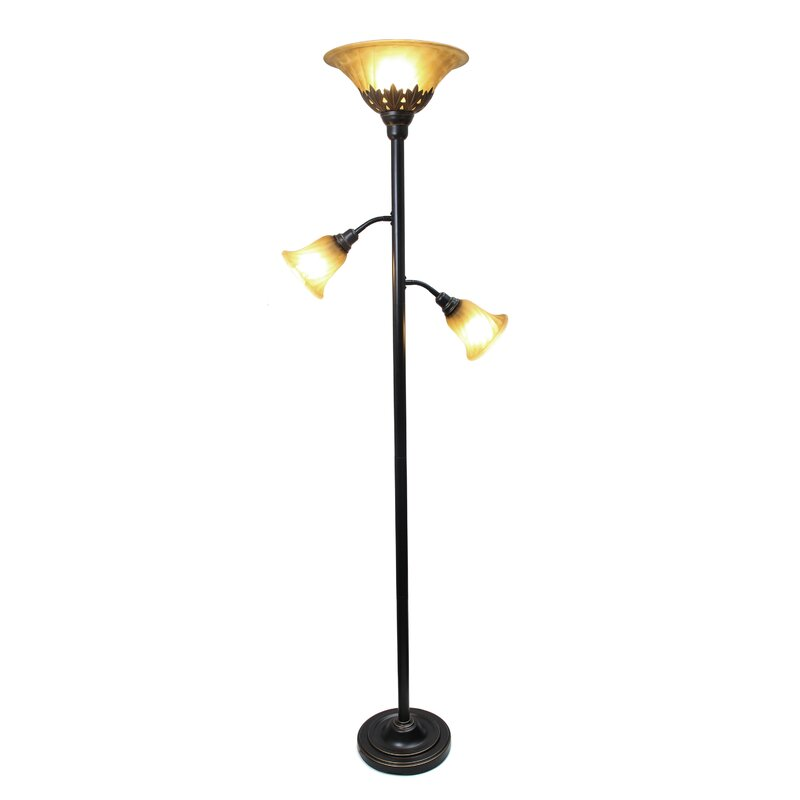 Arbor glen 71 torchiere floor lamp