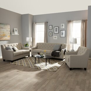 Buying Baxton 3 Piece Living Room Set by Wholesale Interiors Reviews (2019) & Buyer's Guide