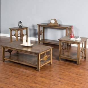 Waddell 4 Piece Coffee Table Set