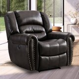 Anyja Faux Leather Power Recliner by Red Barrel Studio®