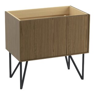 Jute 36 Vanity Base Only with 1 Door and 1 Drawer on Left By Kohler